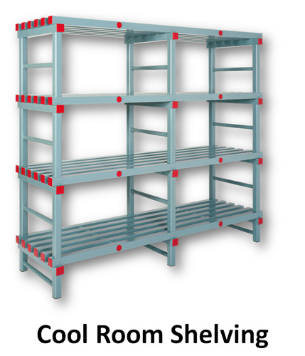 cool room shelving coolroom racking elbowroom
