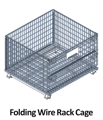 Folding Transport Cages