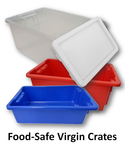 Food Safe Crates