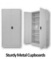 EZYstor Steel Cupboards