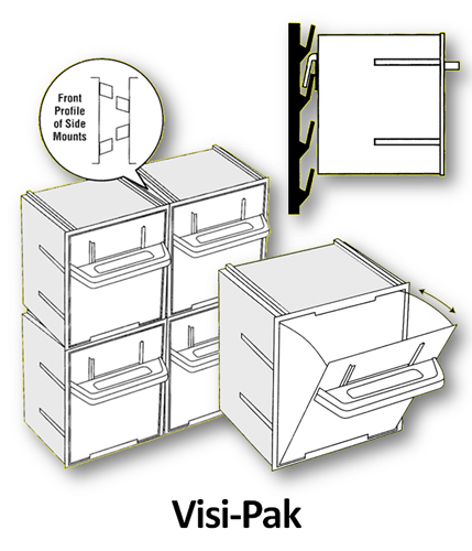 Display Bins - Visi-Pak